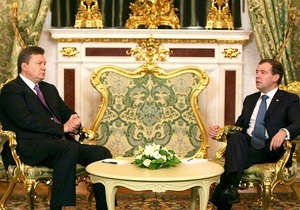 Медведев принял Януковича в Кремле