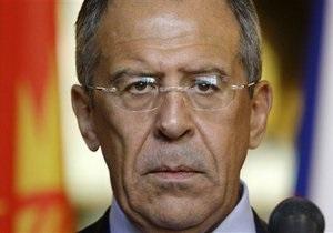 Лавров обвинил Запад в провокации насилия в Сирии