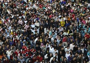 Население Китая через 30 лет начнет сокращаться