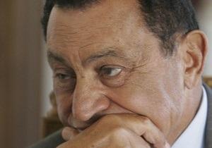 Соратникам Мубарака запретили покидать пределы страны
