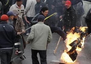 Киргизская оппозиция призвала людей разойтись по домам