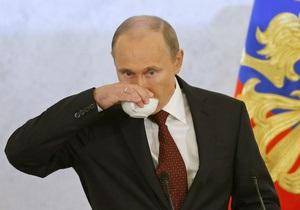 Путин заявил, что не приемлет криминала в политике