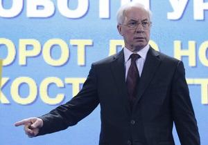 Азаров: Оснований для перехода на бартер в расчетах с Беларусью нет