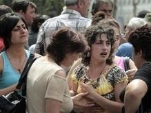 В Киев из Грузии прибывают самолеты, заполненные людьми