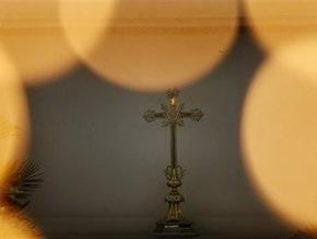 В Киев привезли святые мощи