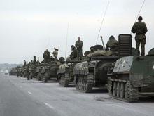 RR: Российские БТРы двинулись из Зугдиди в сторону Сенаки