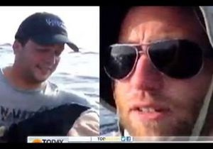 Двое американцев, выживших после крушения самолета, сняли видео о своем спасении на iPad