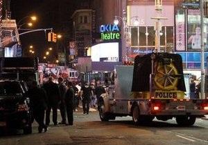 Власти США арестовали подозреваемого в попытке теракта на Таймс-сквер