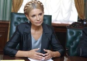 Тимошенко требует личной встречи с Януковичем
