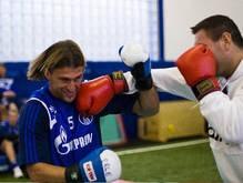 Чагаев размялся на футболистах Шальке