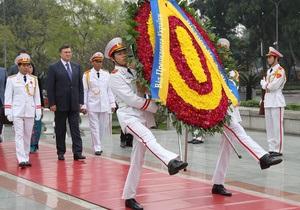 В Ханое состоялась встреча президентов Украины и Вьетнама