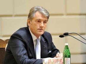 Ющенко призвал интеллигенцию возвращать нации имена ее героев