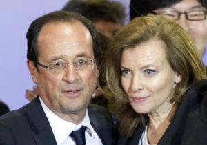 Подруга Олланда отсудила у глянцевого журнала две тысячи евро