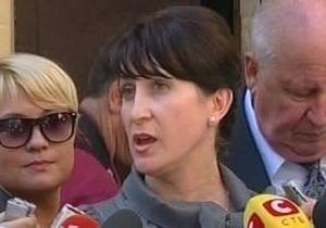 Фролова назвала поведение Тимошенко в суде недопустимым