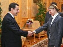 Саркози поздравил  дорогую Юлию  с назначением