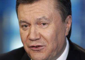 Янукович подписал закон о введении налоговых льгот для юрлиц-резидентов при выплате дивидендов