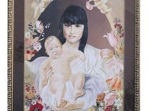 Ирэну Кильчицкую нарисовали в образе Девы Марии