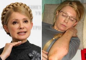 Тимошенко заявила, что в больнице ей в косметику добавляют ядовитые вещества
