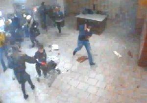 Подозреваемого во взрыве в запорожском супермаркете зафиксировала камера видеонаблюдения