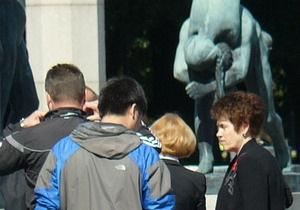 Жена Януковича побывала в Осло