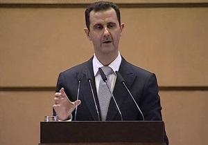 Асад: Урегулированию ситуации в Сирии мешают террористы