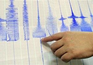 У побережье Тайваня произошло сильное землетрясение
