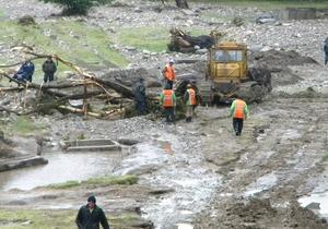 Во  Львовской и Тернопольской областях проводятся работы по ликвидации последствий наводнения