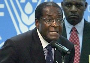 Президент Зимбабве послал западные страны к черту