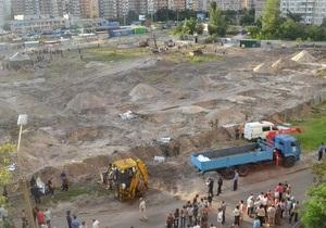 Скандальное строительство на Троещине приостановлено