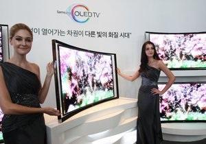 Samsung выпускает изогнутый 3D-телевизор