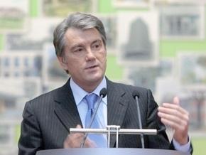Ющенко призывает без шумихи и эмоций вести разговор о НАТО