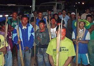 Бразильские индейцы освободили заложников на строящейся ГЭС