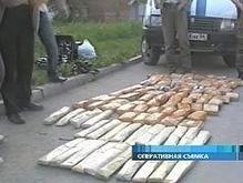 На украинско-российской границе задержали турка с 70 кг героина