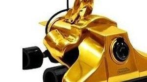 В США поступили в продажу золотые пылесосы