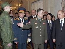 Путин  одобрил  форму от Юдашкина для военных