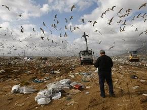 Мэрия Афин попросила горожан не выбрасывать мусор на протяжении трех дней