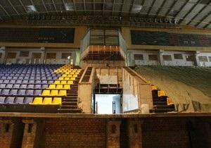 Киевский Дворец спорта откроется после ремонта в апреле