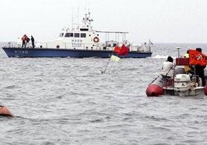 В море у побережья Южной Кореи упал самолет, два человека погибли