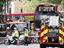 В Великобритании 50 человек пострадали в крупном ДТП