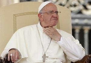 Папа Франциск опубликует энциклику в рекордно короткий срок