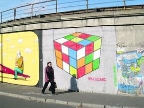 Киевские художники разрисуют головоломками мосты и парапеты
