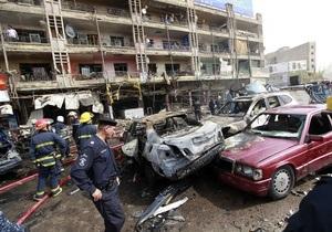 После очередного взрыва число жертв терактов в Ираке увеличилось до 75
