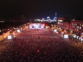 В Украине вышла киноверсия харьковского рок-концерта Queen + Paul Rodgers