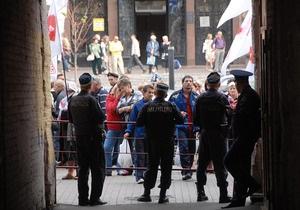 Сторонники Тимошенко пытались прорваться во двор Печерского суда