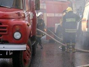 В Москве на территории завода Красный пролетарий произошел пожар