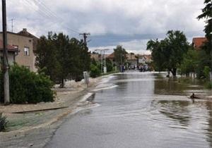 Восточная Европа вновь страдает от наводнений