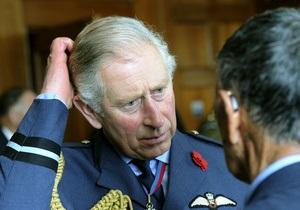 Полиция Новой Зеландии предотвратила покушение на принца Чарльза