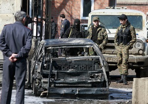 СМИ: Взорванный в Ингушетии автомобиль был угнан в Донецкой области