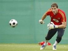 Евро-2008: Сборная Испании сделает ставку на дальние удары в матче с россиянами