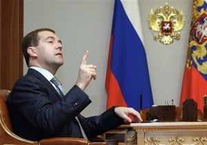 Единая Россия завтра представит Медведеву кандидатов на пост мэра Москвы